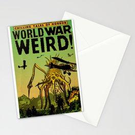 WORLD WAR WEIRD 1 - GMB CHOMICHUK Stationery Cards