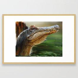 Spinosaurus Framed Art Print