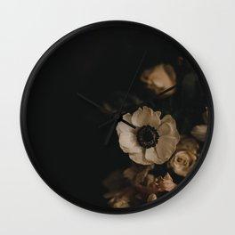 winter blooms Wall Clock