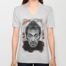 Al Pacino - Caricature Unisex V-Neck