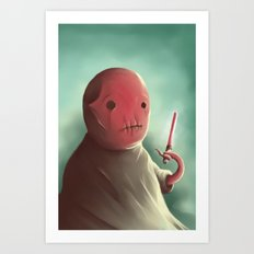 Cuter than master Yoda Art Print
