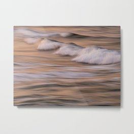 The Sea X Colour Hi-Res Abstract Photography Metal Print