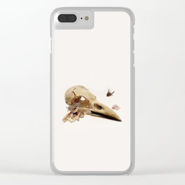 Bird & Orchid Clear iPhone Case