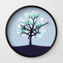 Bloomy Wall Clock