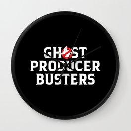 Ghost producer hunters, djs gift Wall Clock