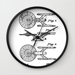 Spaceship toy Wall Clock