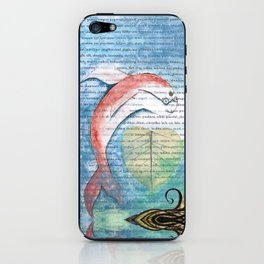 Fish of Far-Sightedness iPhone Skin