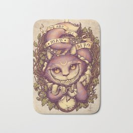 Cheshire Cat Bath Mat