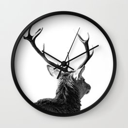 Hey Deer Wall Clock