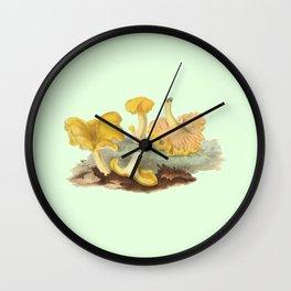 Cantharellus Cibarius Wall Clock