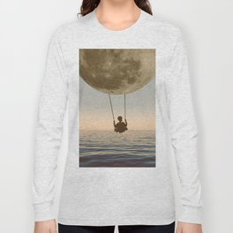DREAM BIG/MOON CHILD SWING Long Sleeve T-shirt