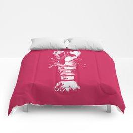 Summer Lobster Bake Comforters