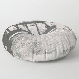 Quiverish Penn Station Floor Pillow