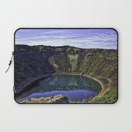 Kerid Crater Lake in Iceland Laptop Sleeve