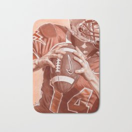 American Football Bath Mat