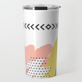 Fashion Abstract Art Design Travel Mug