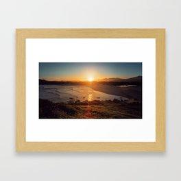 Lost in the Sunlight Framed Art Print