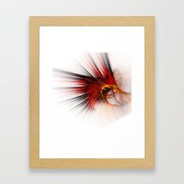 Red totem Framed Art Print