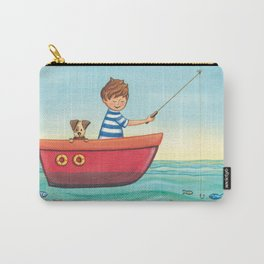 Happy Fishing Day Carry-All Pouch