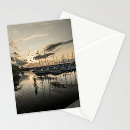 River Relaxation Stationery Cards