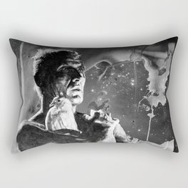 Like tears in rain - black - quote Rectangular Pillow