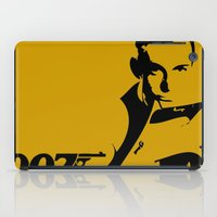 james bond iPad Cases featuring 007 James Bond by Walter Eckland