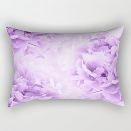 Purple Peonies Dream #2 #floral #decor #art #society6 Rectangular Pillow