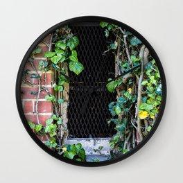 Water Tower Window Wall Clock