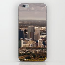 Paysage urbain de La Défense, Paris // La Défense, Paris Cityscape iPhone Skin