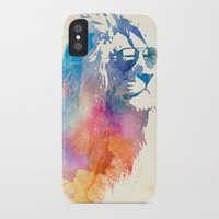 night iPhone & iPod Cases featuring Sunny Leo   by Robert Farkas