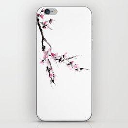 Sakura flower iPhone Skin