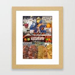 Traffic,Brooklyn,apples or ornages Framed Art Print
