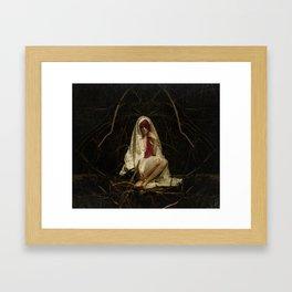 The Devout Framed Art Print