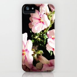 Dark Flowers iPhone Case