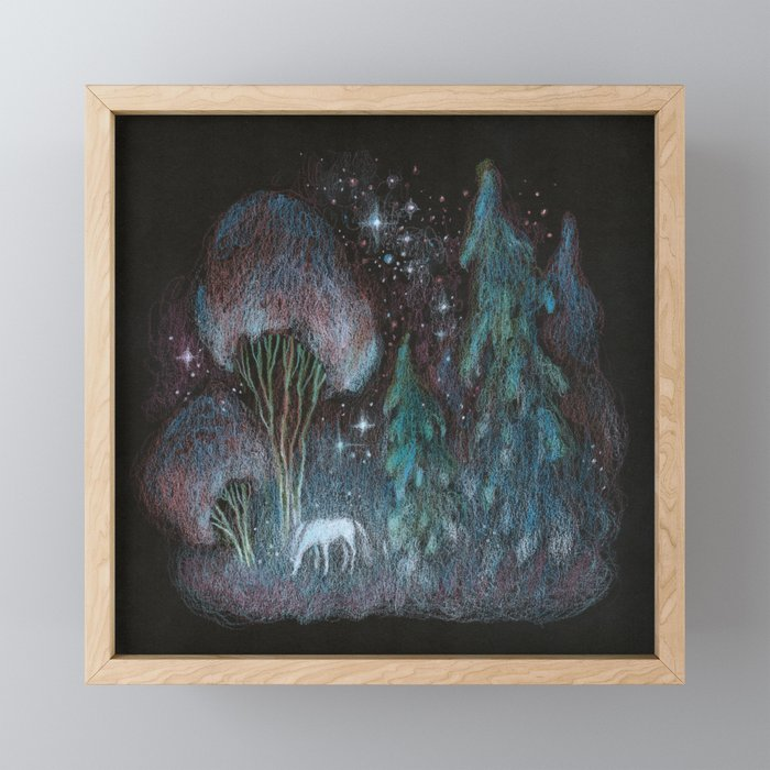 Stardust Framed Mini Art Print