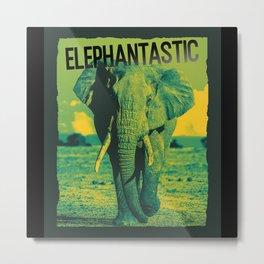 Elephant Elephantastic Metal Print