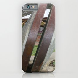 Chilean Mill Wheels iPhone Case
