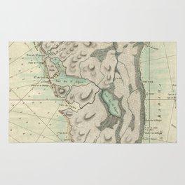 Vintage Map of Florida (1760) Rug