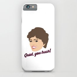 Golden Girls Blanche Devereaux iPhone Case