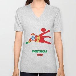 Portugal2 Unisex V-Neck