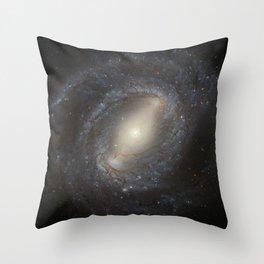 Barred Spiral Galaxy NGC 4394 Throw Pillow