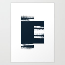 Brush III Art Print