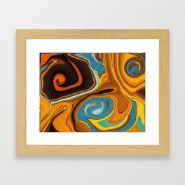 Caramel Dreams Framed Art Print