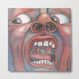 In the Court of the Crimson King Expanded Edition by King Crimson Metal Print