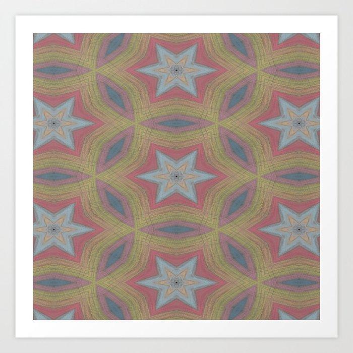Ann Arbor chalk 6233 Art Print