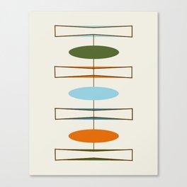 Mid-Century Modern Art 1.2 Canvas Print