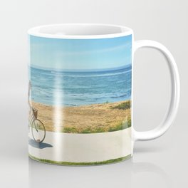 America flag bicycle Coffee Mug