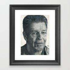 John Noble - Walter Bishop Framed Art Print
