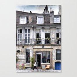 Antiquity shop Besançon France Canvas Print