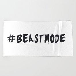 # BEASTMODE - Motivation Beach Towel